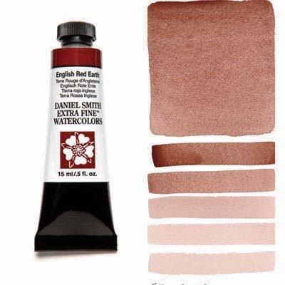 English Red Earth 15ml Tube – DANIEL SMITH Extra Fine Watercolour