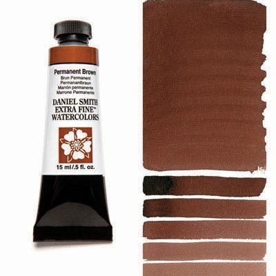 Permanent Brown 15ml Tube – DANIEL SMITH Extra Fine Watercolour