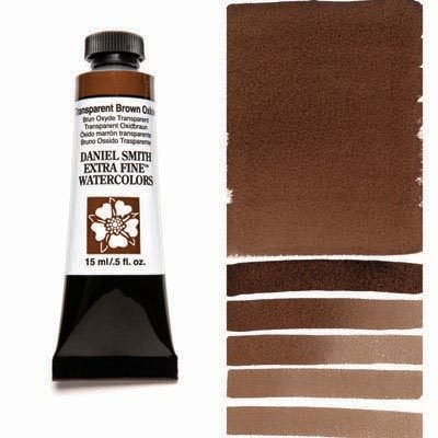 Transparent Brown Oxide 15ml Tube – DANIEL SMITH Extra Fine Watercolour