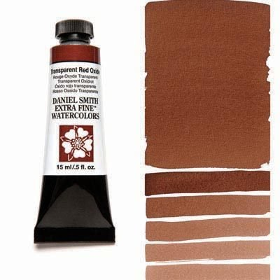Transparent Red Oxide 15ml Tube – DANIEL SMITH Extra Fine Watercolour