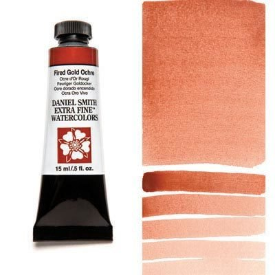 Fired Gold Ochre 15ml Tube – DANIEL SMITH Extra Fine Watercolour