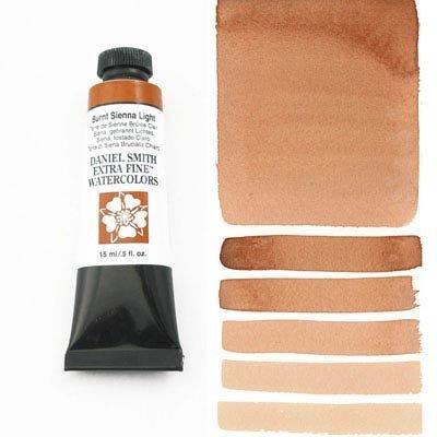 Burnt Sienna Light 15ml Tube – DANIEL SMITH Extra Fine Watercolour