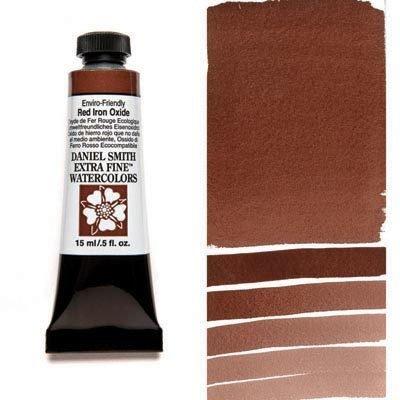 Enviro-Friendly Red Iron Oxide 15ml Tube – DANIEL SMITH Extra Fine Watercolour
