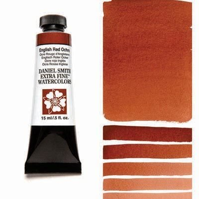 English Red Ochre 15ml Tube – DANIEL SMITH Extra Fine Watercolour