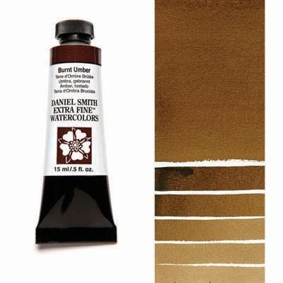Burnt Umber 15ml Tube – DANIEL SMITH Extra Fine Watercolour