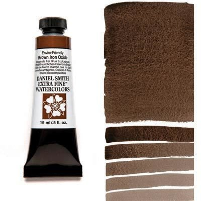 Enviro-Friendy Brown Iron Oxide 15ml Tube – DANIEL SMITH Extra Fine Watercolour