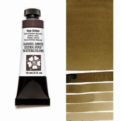 Raw Umber 15ml Tube – DANIEL SMITH Extra Fine Watercolour