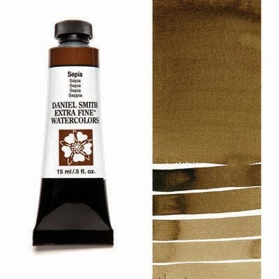 Sepia 15ml Tube – DANIEL SMITH Extra Fine Watercolour