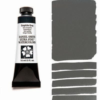 Graphite Gray 15ml Tube – DANIEL SMITH Extra Fine Watercolour