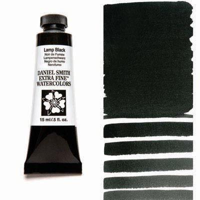 Lamp Black 15ml Tube – DANIEL SMITH Extra Fine Watercolour