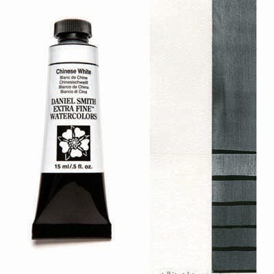 Chinese White 15ml Tube – DANIEL SMITH Extra Fine Watercolour