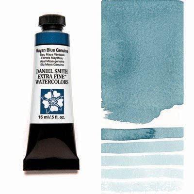 Mayan Blue Genuine 15ml Tube – DANIEL SMITH Extra Fine Watercolour