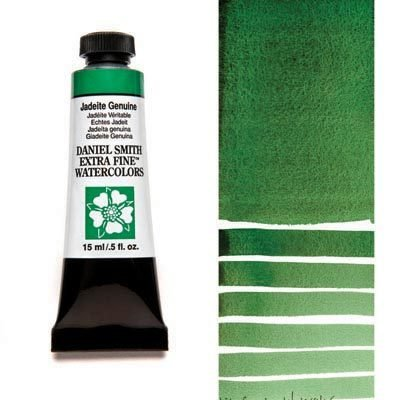 Jadeite Genuine 15ml Tube – DANIEL SMITH Extra Fine Watercolour