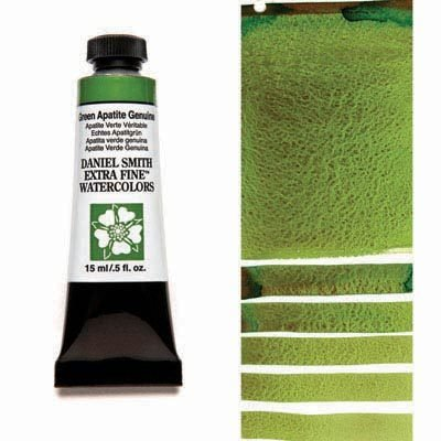 Green Apatite Genuine 15ml Tube – DANIEL SMITH Extra Fine Watercolour