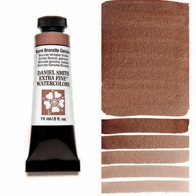 Burnt Bronzite Genuine 15ml Tube – DANIEL SMITH Extra Fine Watercolour
