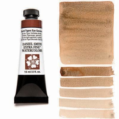 Burnt Tiger's Eye Genuine 15ml Tube – DANIEL SMITH Extra Fine Watercolour