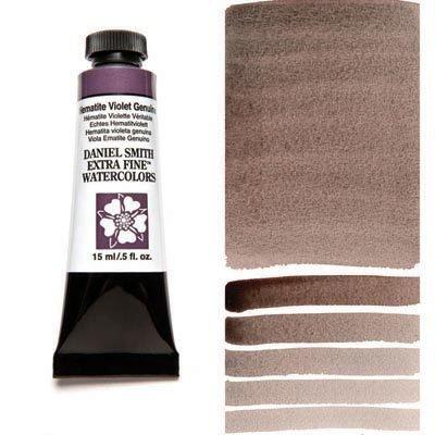 Hematite Violet Genuine 15ml Tube – DANIEL SMITH Extra Fine Watercolour
