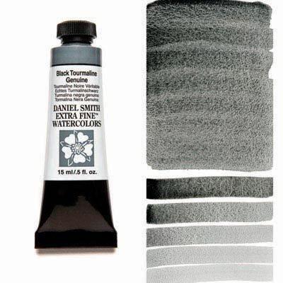 Black Tourmaline Genuine 15ml Tube – DANIEL SMITH Extra Fine Watercolour