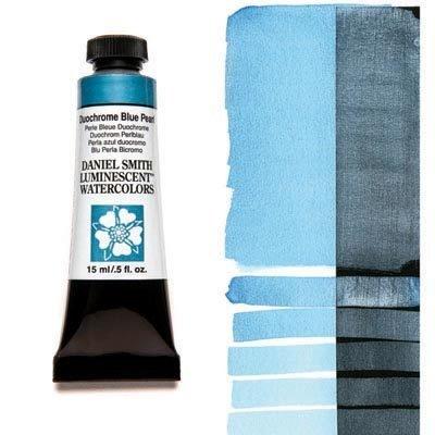 Duochrome Blue Pearl 15ml Tube – DANIEL SMITH Luminescent Watercolour