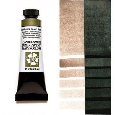 Duochrome Desert Bronze 15ml Tube – DANIEL SMITH Luminescent Watercolour