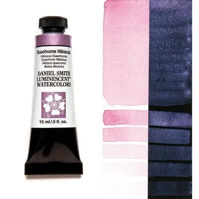 Duochrome Hibiscus 15ml Tube – DANIEL SMITH Luminescent Watercolour