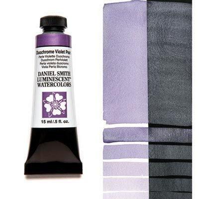 Duochrome Violet Pearl 15ml Tube – DANIEL SMITH Luminescent Watercolour