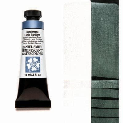 Duochrome Tropic Sunrise 15ml Tube – DANIEL SMITH Luminescent Watercolour