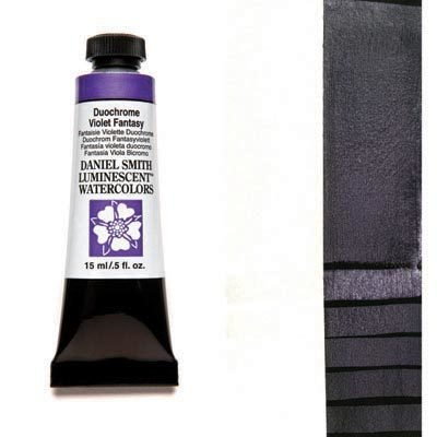 Duochrome Violet Fantasy 15ml Tube – DANIEL SMITH Luminescent Watercolour