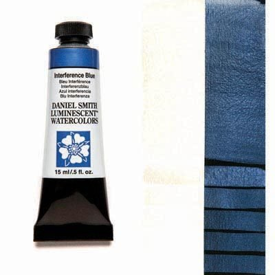 Interference Blue 15ml Tube – DANIEL SMITH Luminescent Watercolour