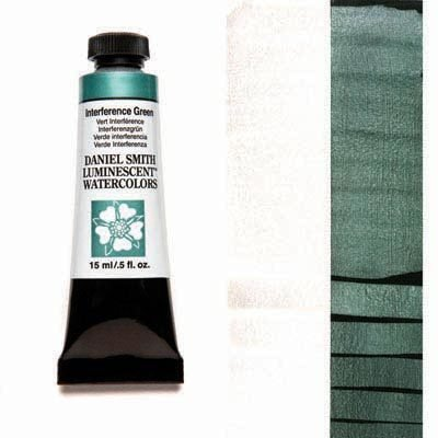 Interference Green 15ml Tube – DANIEL SMITH Luminescent Watercolour