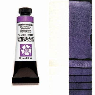 Interference Lilac 15ml Tube – DANIEL SMITH Luminescent Watercolour