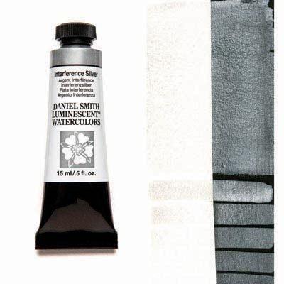 Interference Silver 15ml Tube – DANIEL SMITH Luminescent Watercolour