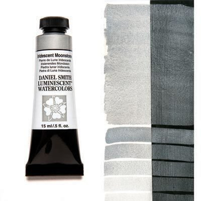 Iridescent Moonstone 15ml Tube – DANIEL SMITH Luminescent Watercolour