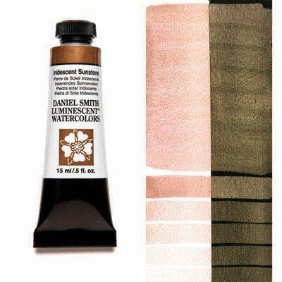 Iridescent Sunstone 15ml Tube – DANIEL SMITH Luminescent Watercolour
