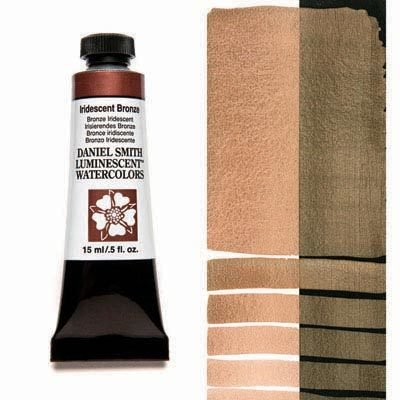 Iridescent Bronze 15ml Tube – DANIEL SMITH Luminescent Watercolour
