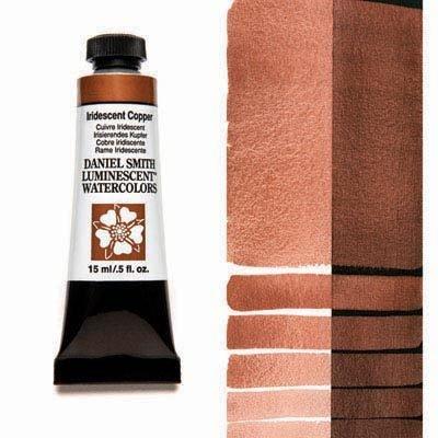 Iridescent Copper 15ml Tube – DANIEL SMITH Luminescent Watercolour