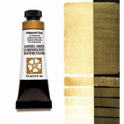 Iridescent Gold 15ml Tube – DANIEL SMITH Luminescent Watercolour