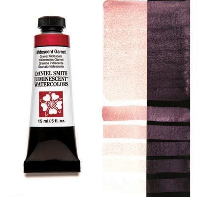 Iridescent Garnet 15ml Tube – DANIEL SMITH Luminescent Watercolour