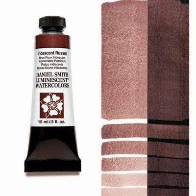Iridescent Russet 15ml Tube – DANIEL SMITH Luminescent Watercolour