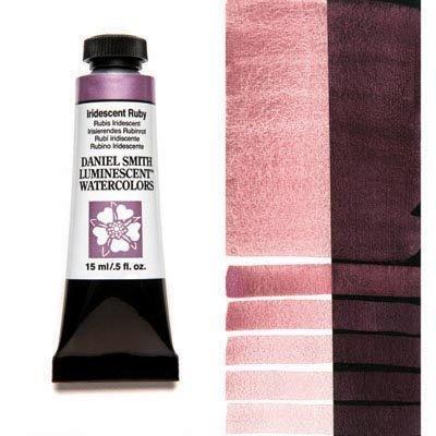 Iridescent Ruby 15ml Tube – DANIEL SMITH Luminescent Watercolour