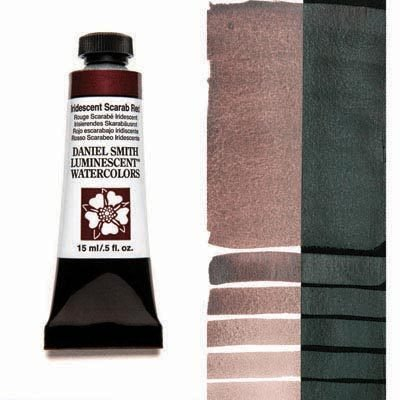 Iridescent Scarab Red 15ml Tube – DANIEL SMITH Luminescent Watercolour