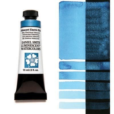 Iridescent Electric Blue 15ml Tube – DANIEL SMITH Luminescent Watercolour