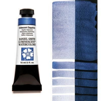 Iridescent Sapphire 15ml Tube – DANIEL SMITH Luminescent Watercolour
