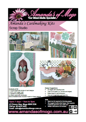 Scrap Studio Kaisercraft Cardmaking Kit
