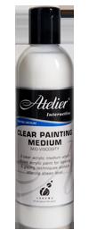 Atelier Clear Painting Medium (Mid-Viscosity) 250ml
