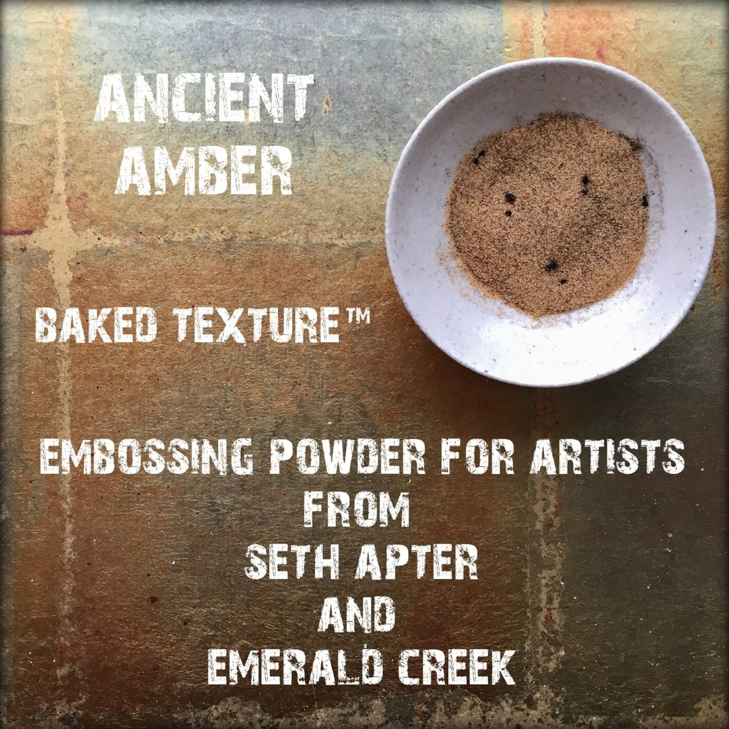 Seth Apter Baked Texture - Ancient Amber