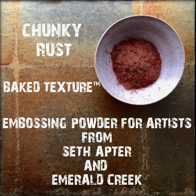 Seth Apter Baked Texture - Chunky Rust