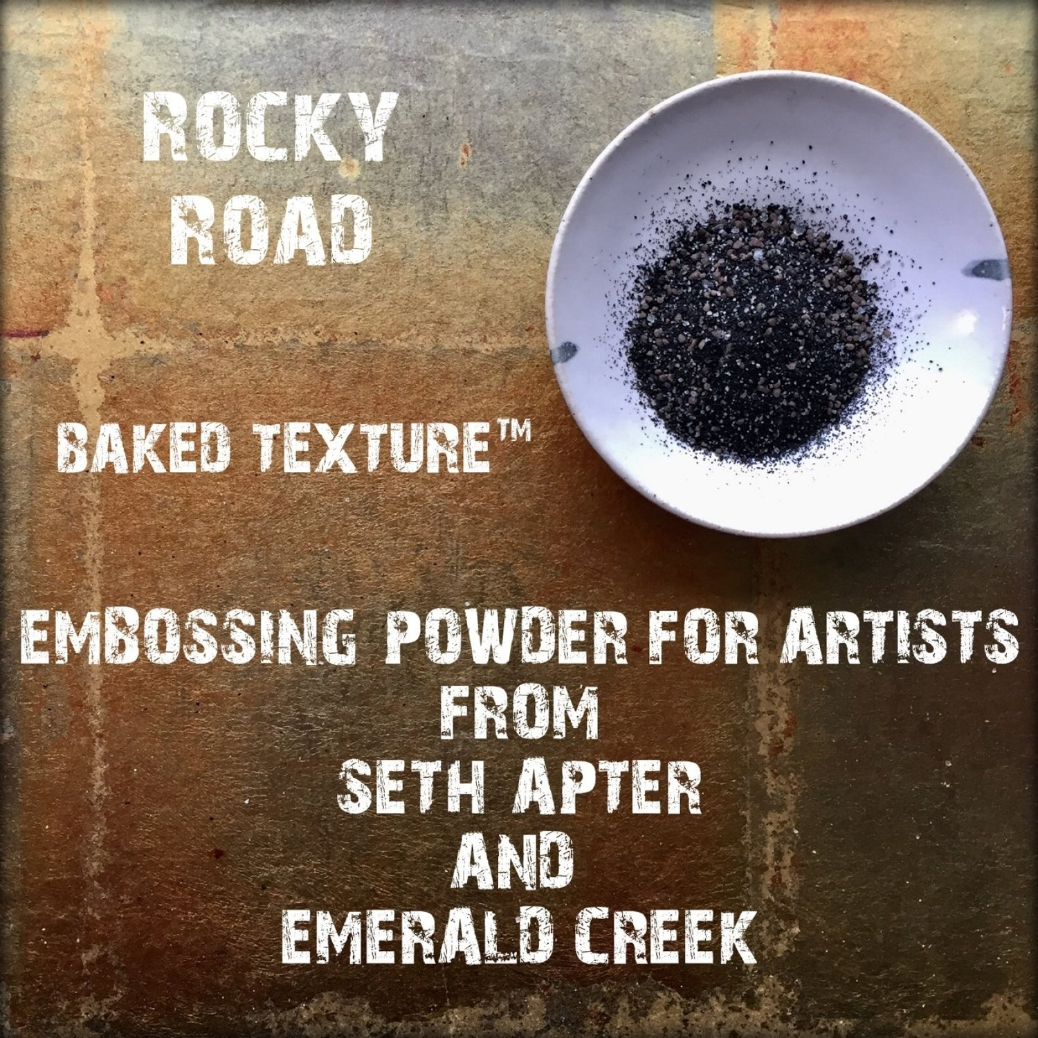 Seth Apter Baked Texture - Rocky Road