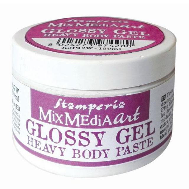 Stamperia - Glossy Gel 150 ml Heavy Body Paste