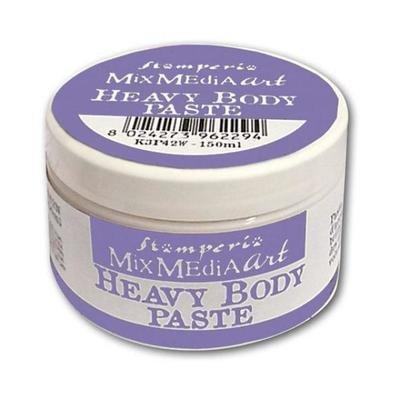 Stamperia - Heavy body paste 150 ml. White